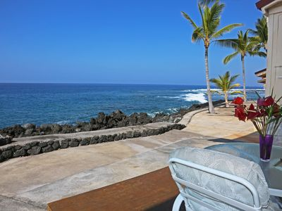Photo for Lovely Oceanfront Townhouse in Surf and Racquet!