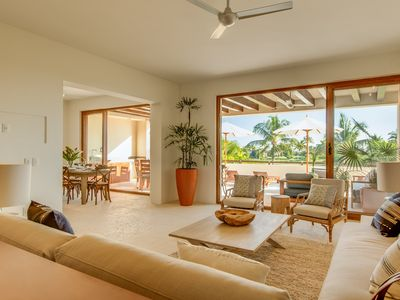 Photo for Luxury 3-bdr+ villa inside Gated Punta Mita Overlooking the Bay & golf-course