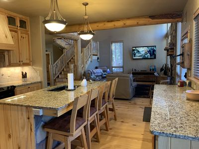 Photo for 5 Bedroom Luxury home in Angel Fire Country Club with mountain cabin warmth