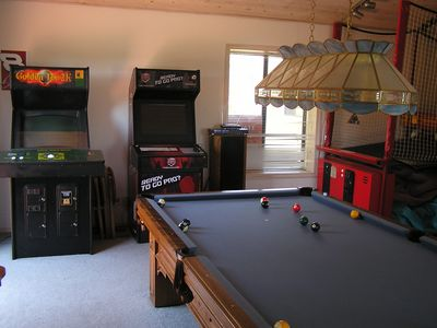 Photo for 5BR, 10 REAL Beds, Hot Tub, Game Rm, Pool Tbl, Mtn View, Fully-Equipped Kitchen
