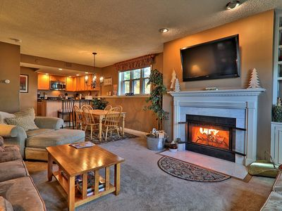 Photo for Newly remodeled 2 bedroom Winterplace Condo, Walk to the Trail.