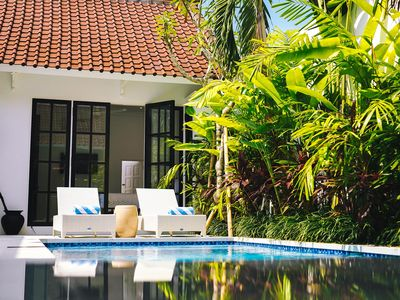 Photo for Airy Poolside Villa Town House in Canggu
