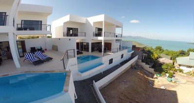 Photo for 3 bed Seaview Villa 5 mins to beach (B2)