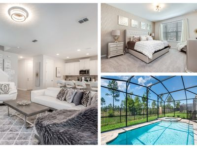 Photo for Ultimate Vacation Home - Spacious Villa w/ Private Pool & Game Room