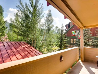 Photo for Newly Renovated, Large Windows with Lovely Summertime Mountain Views