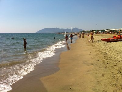 Photo for villa 100mt to the beach in circeo. fully equipment. private beach