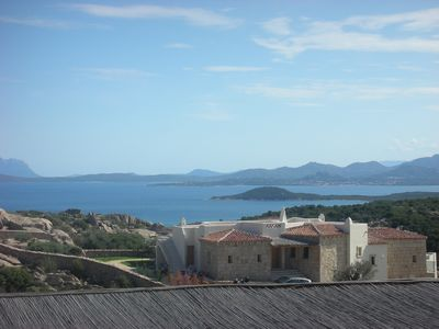 Photo for Costa Smeralda Abbiadori house sleeps 5 with garden and views
