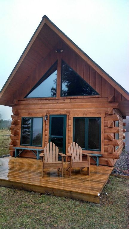 Come Take A Look At Lake Superior Most Romantic Log Cabin.