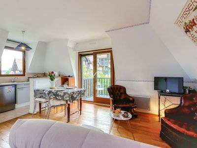 Photo for Deauville Apartment, Sleeps 2 with Free WiFi