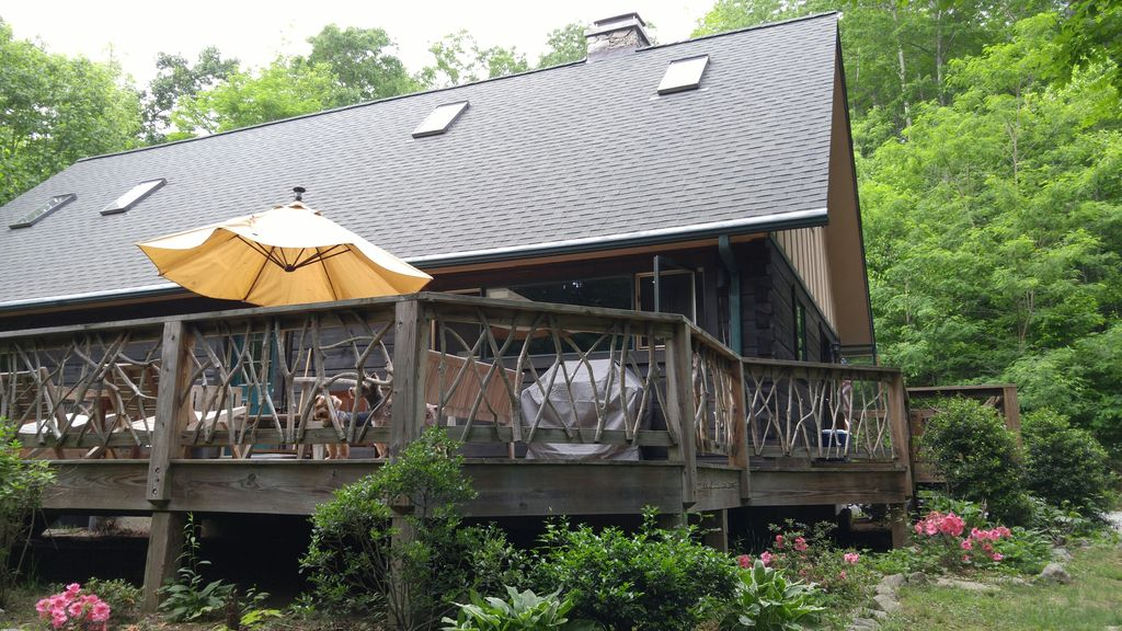 Private Log Cabin Close To Black Mountain Homeaway