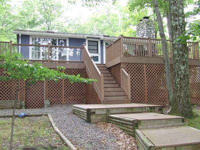 Photo for 2BR Cabin Vacation Rental in Tannersville, Pennsylvania