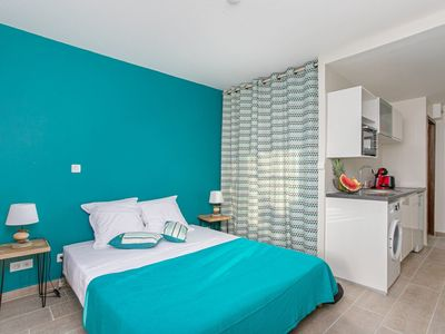 Photo for NEW !! Studio Corail - 5 min walk from the beach