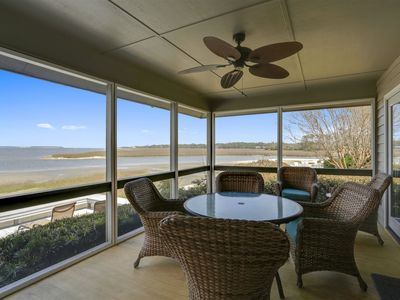 Photo for Completely remodeled 4 bedroom, 4 bathroom unit in Lands End with tranquil water views!