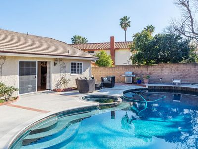 Photo for Quiet Suburban Home with a Pool