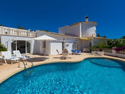 Photo for TIFFANY, intimate villa for 4 guests in Moraira, Alicante