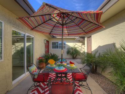 Photo for Modern Renovated Gem- Scottsdale Townhome w/Pergola- Near Old Town & Papago Park