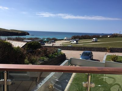 Photo for Luxury 2 bedroom duplex within 50 mtrs off the sandy beach with great sea views