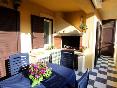 Photo for CaseSicule:Melograno, Nice Veranda with Barbecue, beach at 200 m, Wi-Fi