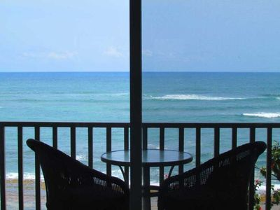 Photo for Direct Oceanfront with a Serene SPA Feel