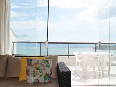 Photo for Beautiful apartment with pool and beach views