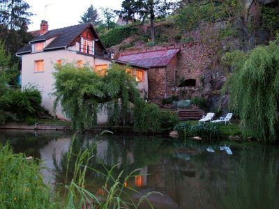 Photo for Cozy Riverfront House with Views in Charming Medieval Town - Discounts Available