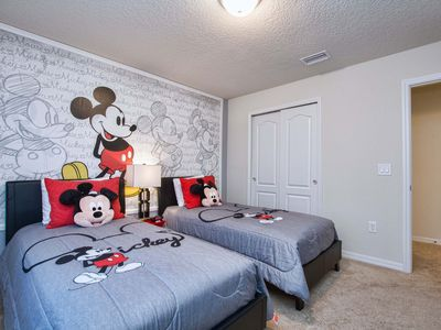Photo for Private Pool&Hot Tub*Themed bedrooms*Outside Grill*New modern home*10 min Disney