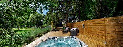 Photo for charming property with spa 10 to 20 people, 200km from Paris, castles of the Loire