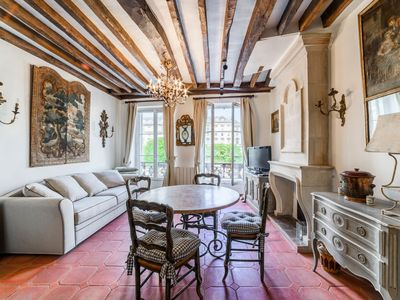 Photo for Authentic River-View Parisian-style Flat