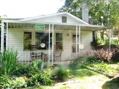 Photo for Pet Friendly Private Apartment 3 miles from Downtown