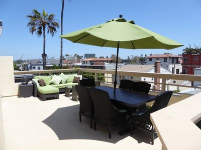 Photo for The Pacific Elegance - 3BD/2BA Ocean Side Home with Large Patio Deck