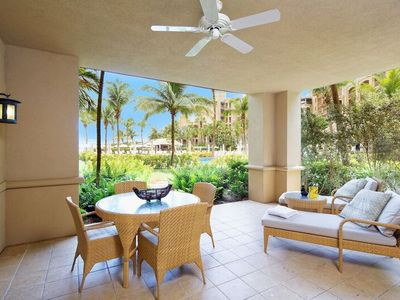 Photo for 3BR, Ground Floor, Pool and Ocean View, Private Residence 104 at the Ritz-Carlton, Grand Cayman