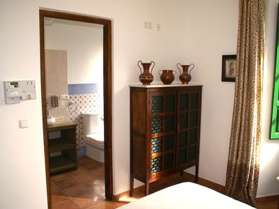 Photo for Luxurious nostalgic double room R3 on the Finca la Cañota resort in the center of Lecrin