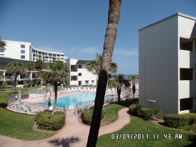 Photo for Updated 2 Bedroom 2 1/2 Bath Beachside Condo - NO Crossing of street