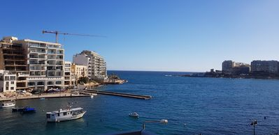 Photo for Two-bedroom seafront apartment with balcony in St Julian's