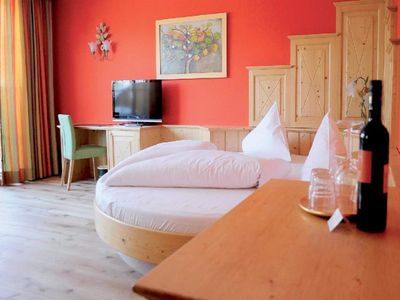 Photo for Double room superior, shower, toilet, balcony - Hotel Försterhof, lebe pur gmbh.
