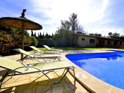 Photo for Good facilities, 4 bedrooms, 2 bathrooms, large pool and beautiful garden