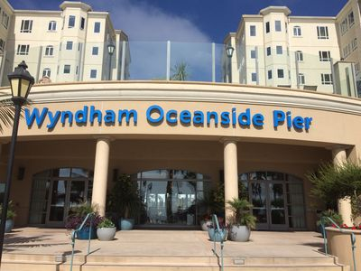 Photo for Two bedroom Wyndham Luxury resort located across the the street from Oceanside Pier.
