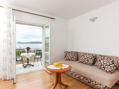 Photo for One bedroom apartment with balcony and sea view Lopud (Elafiti)