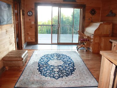 Photo for Stunning Custom Built Lodge on Secluded Streamside Acreage w/ Breathtaking Views