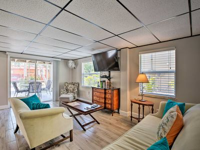 Photo for NEW! Updated Apt w/Patio, Walk to Fort Myers Beach