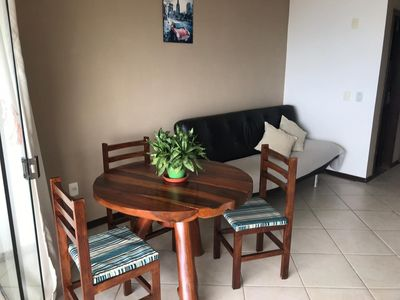 Photo for Apartment with balcony sea view and Morro do Bald !!!