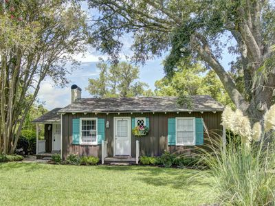 Photo for Welcome to the Mermaid Cottage!  Fun Updated Original Beach Cottage - 2 Blocks to the Beach!