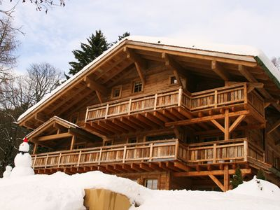 Photo for Most Beautiful Chalet 'La Rose Des Vents'