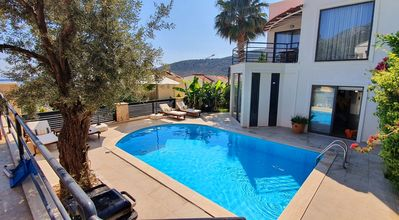 Photo for Kalkan, 2 Bed ensuite, private garden & pool, stunning views, perfect getaway.
