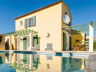Photo for RQ VC7 - Spacious 3 bedrooms Villa with private pool - NARBONNE-PLAGE