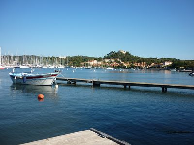 Photo for APARTMENT (2 parts) - PORQUEROLLES ISLAND