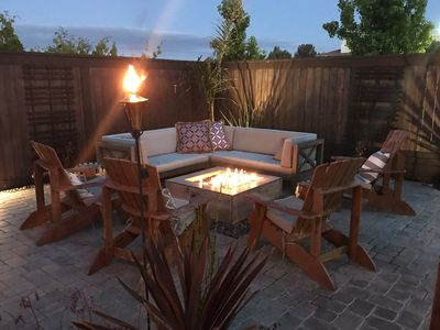 Photo for Wine Country Retreat- Dream Backyard- Firepit & Hot Tub