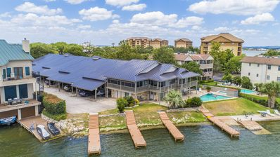 Photo for 3 BR, 2 BA Lake LBJ Waterfront Townhouse w/in Walking Distance to HSB Resort