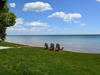 Photo for Ryder Cup Ready! Large Beautiful Home with Swimming Pool on Lake Michigan