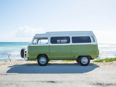 Travel with campervan around Riviera Maya Mexico Tulum